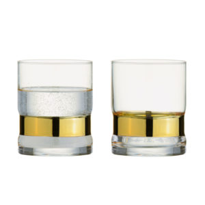 Set of 2 SoHo DOF Tumblers Gold