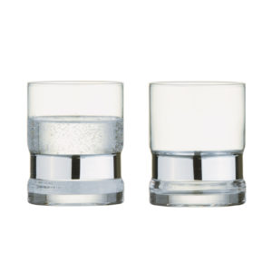 Set of 2 SoHo DOF Tumblers Silver