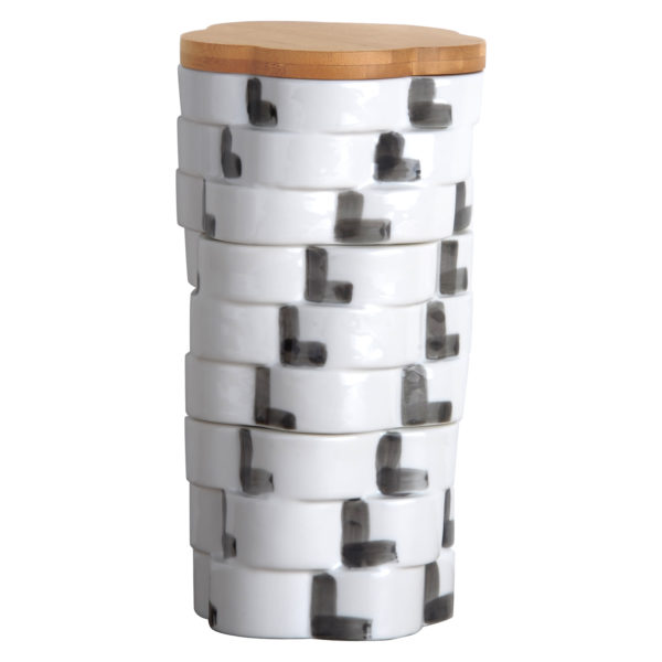 Totem Square Storage Jar