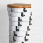 Totem Flower Storage Jar