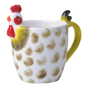Dawn Chorus Speckled Mug
