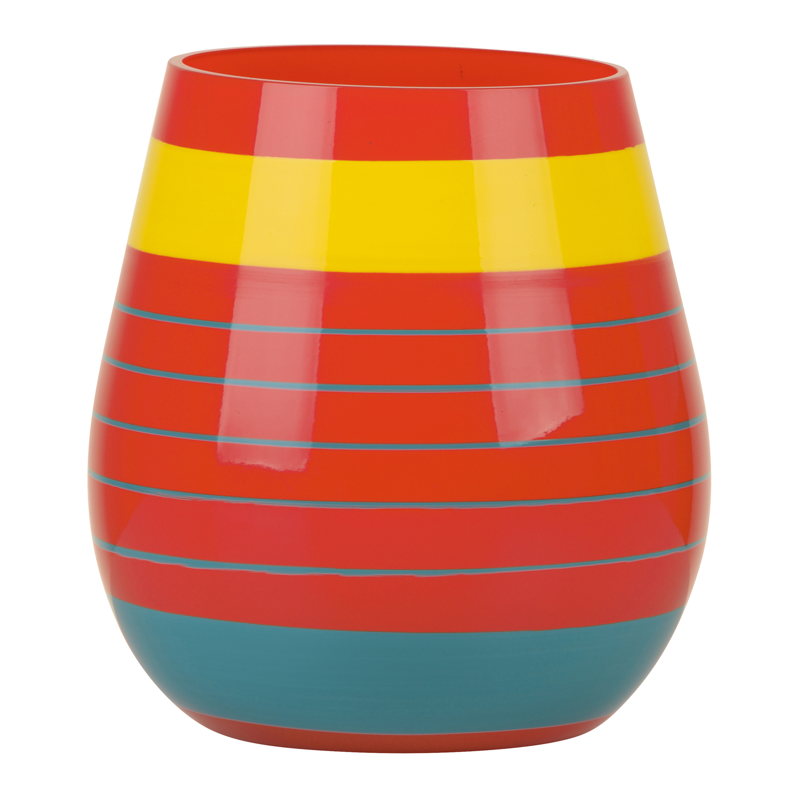 Halo Orange Vase Small