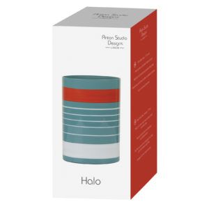 Halo Blue Vase Small
