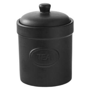 Tea Canister Matte White